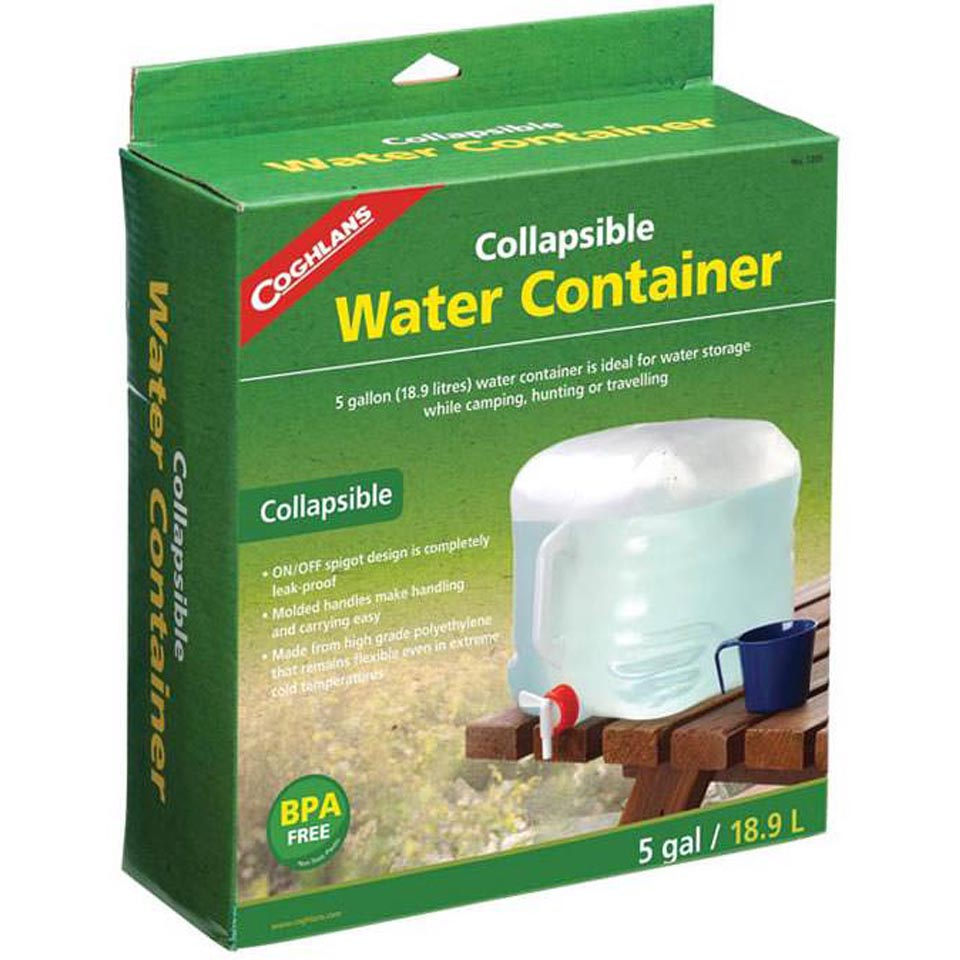 Collapsible Water Container