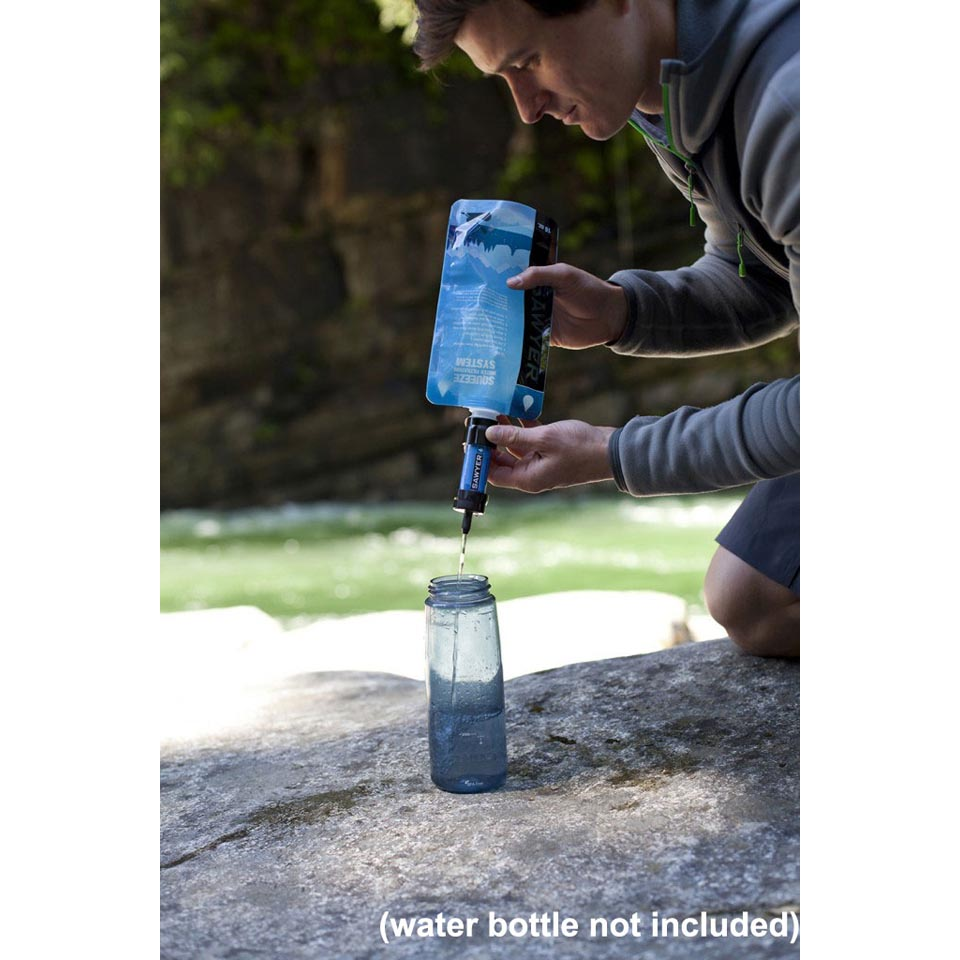 Sawyer Mini Water Filtration System Backcountry Edge