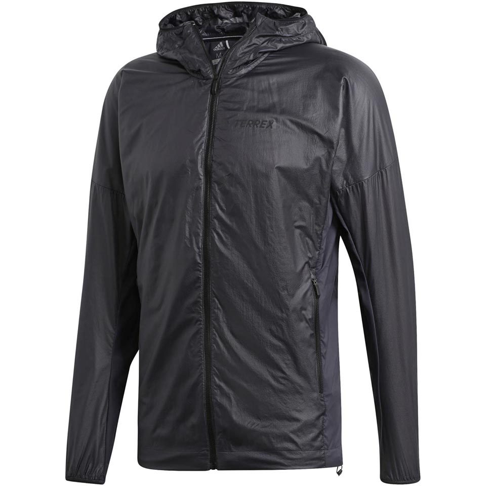 adidas Outdoor Men's Agravic Alpha Shield Hooded Jacket