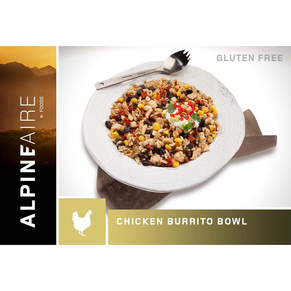 Chicken & Rice Burrito Bowl (Gluten Free)