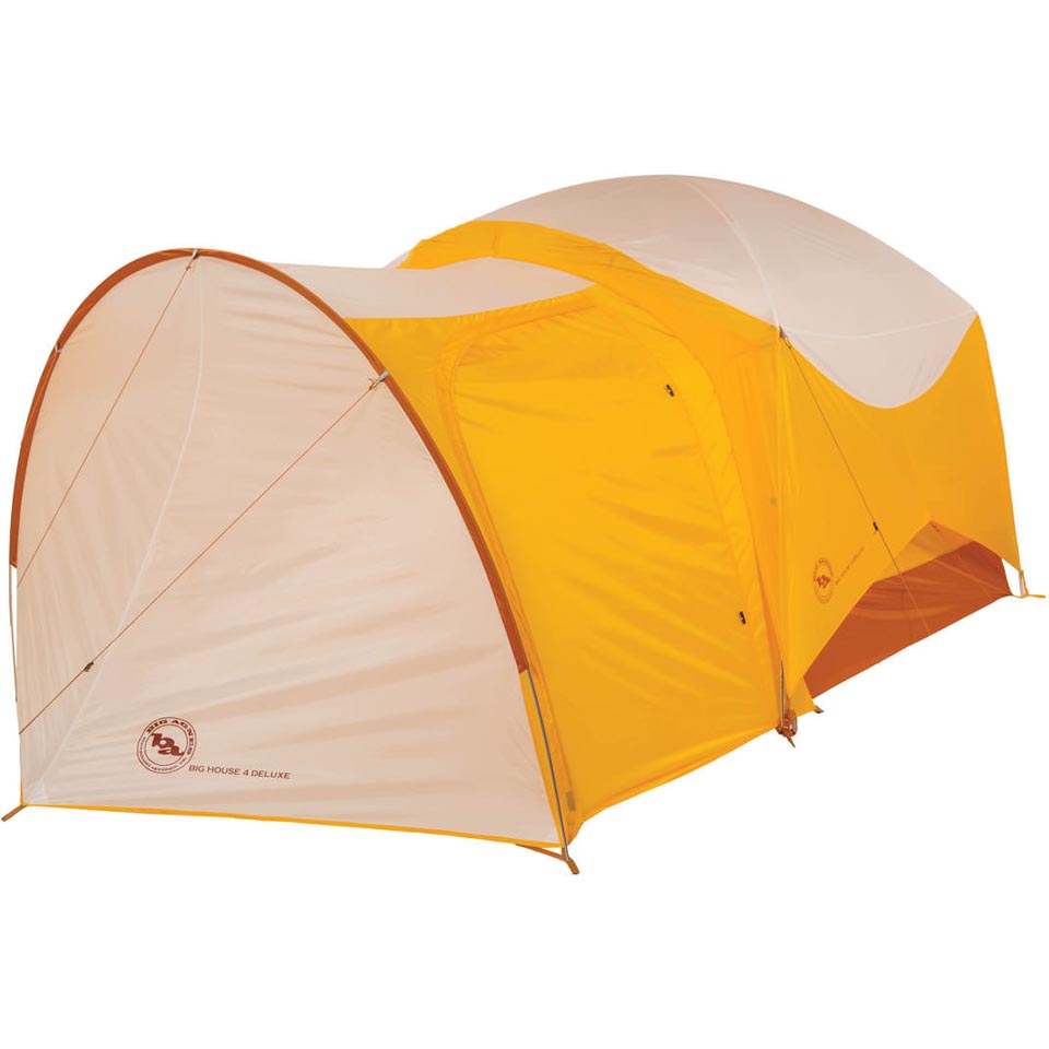 Shown attached to the Big House 4 Deluxe tent (sold separately)