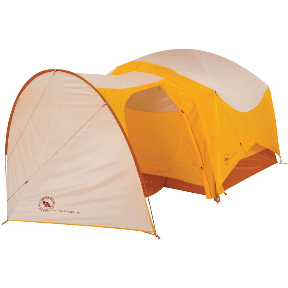 Shown attached to the Big House 6 Deluxe tent (sold separately)