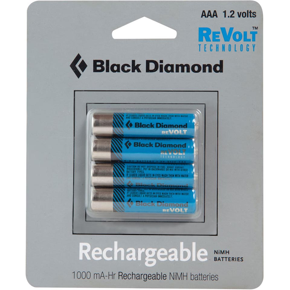 Revolt AAA Rechargable Battery 4-Pack
