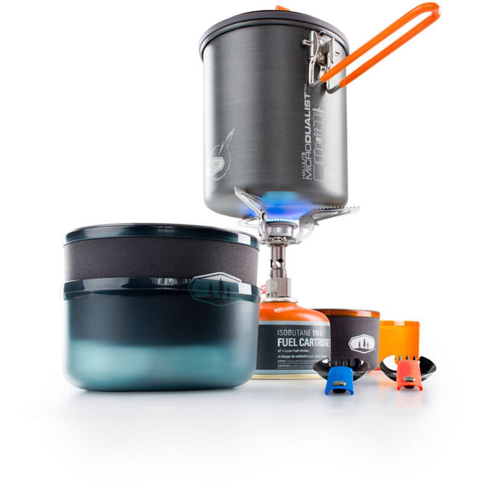 Gsi outdoors halulite microdualist complete backcountry edge for Gsi kitchen set