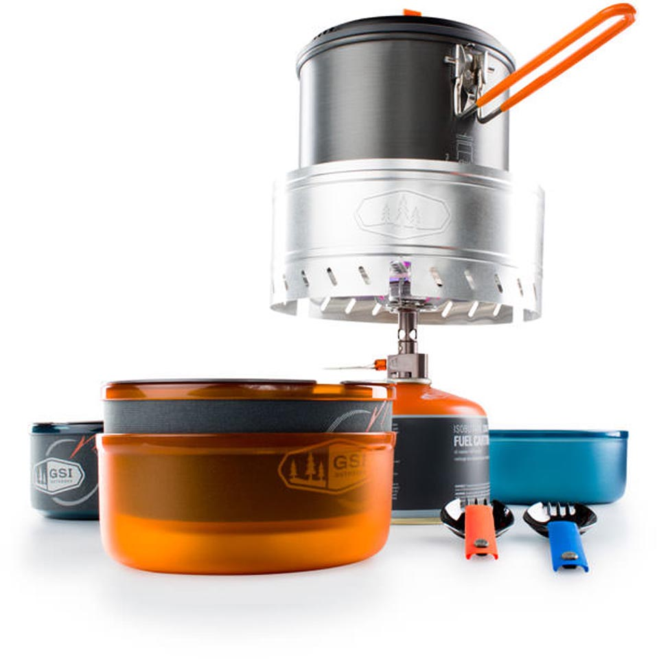 Gsi outdoors pinnacle dualist complete backcountry edge for Gsi kitchen set