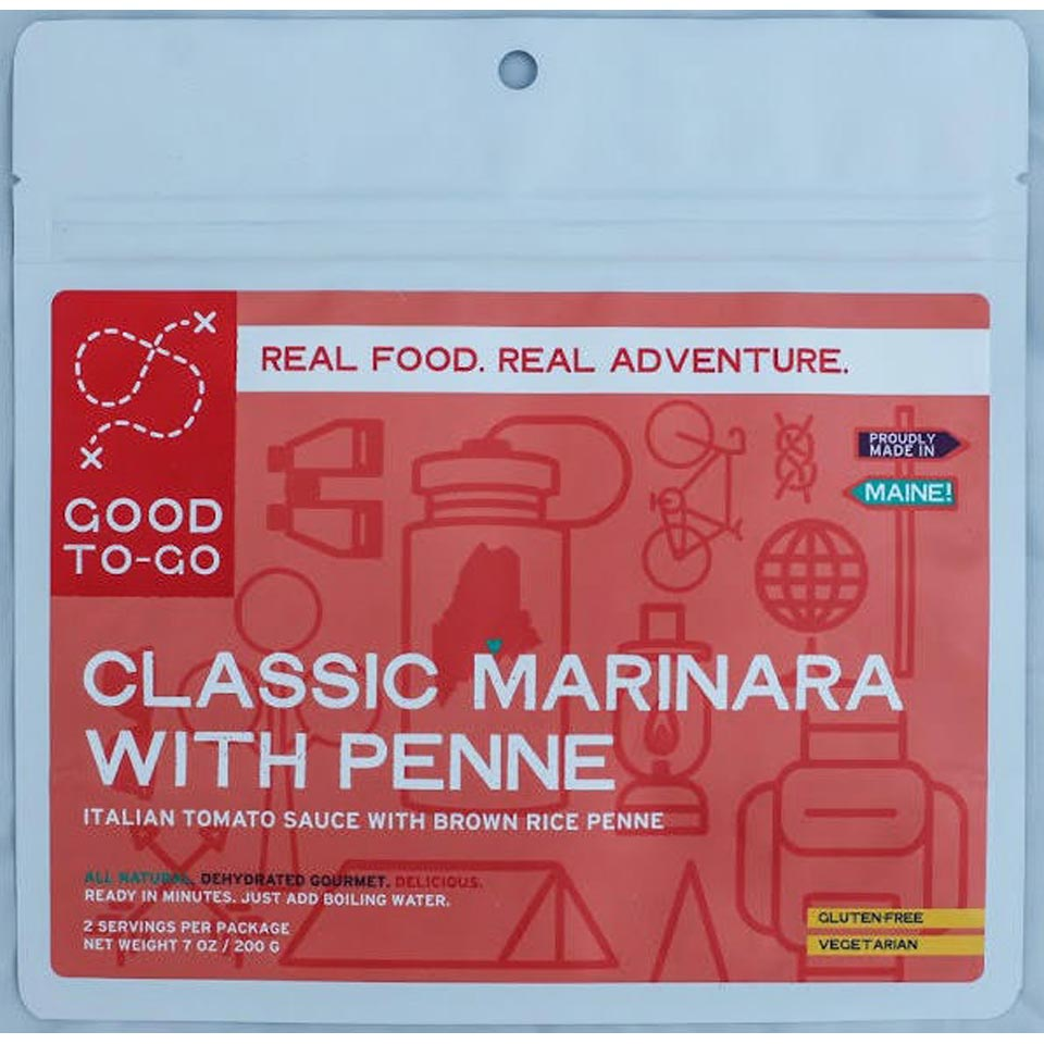 Classic Marinara with Penne-Two Serving Size