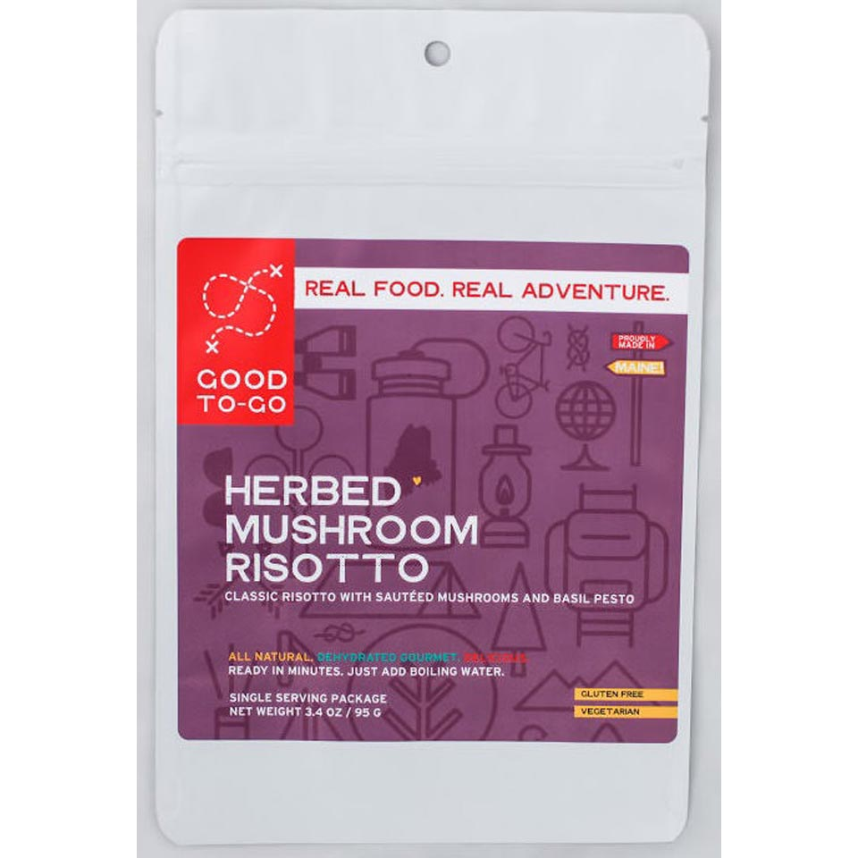 Herbed Mushroom Risotto-Single Serving Size