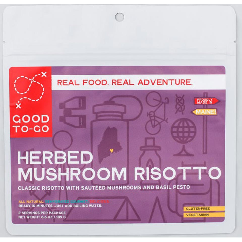 Herbed Mushroom Risotto-Two Serving Size