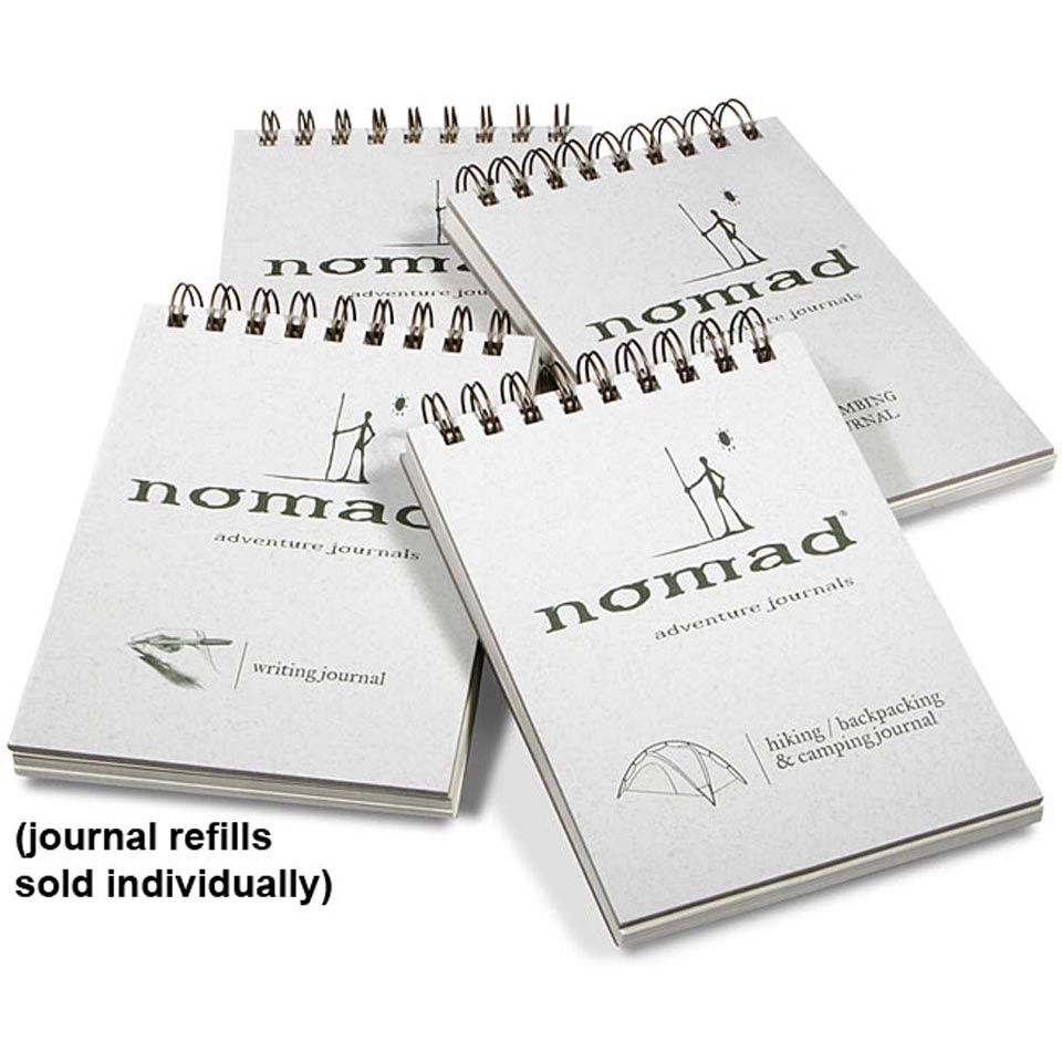 Hiking and Camping Journal Refill