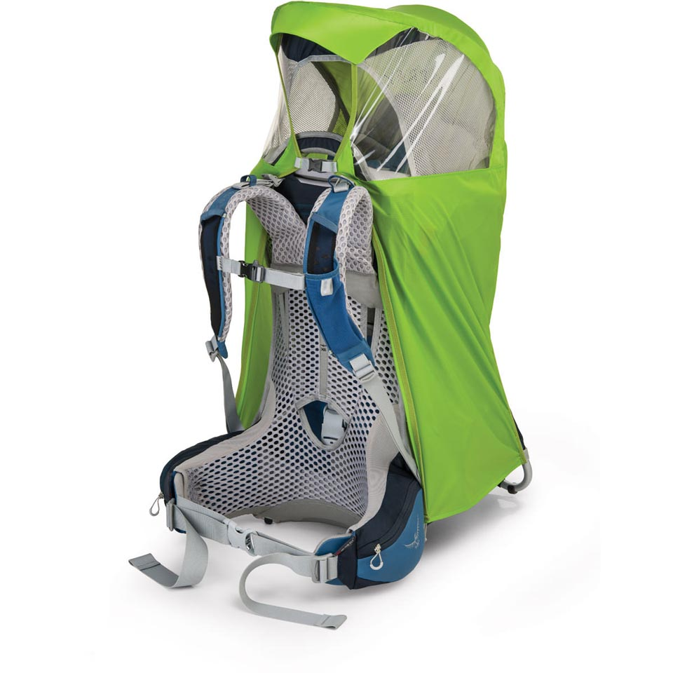 shown with Osprey child carrier (sold separately)