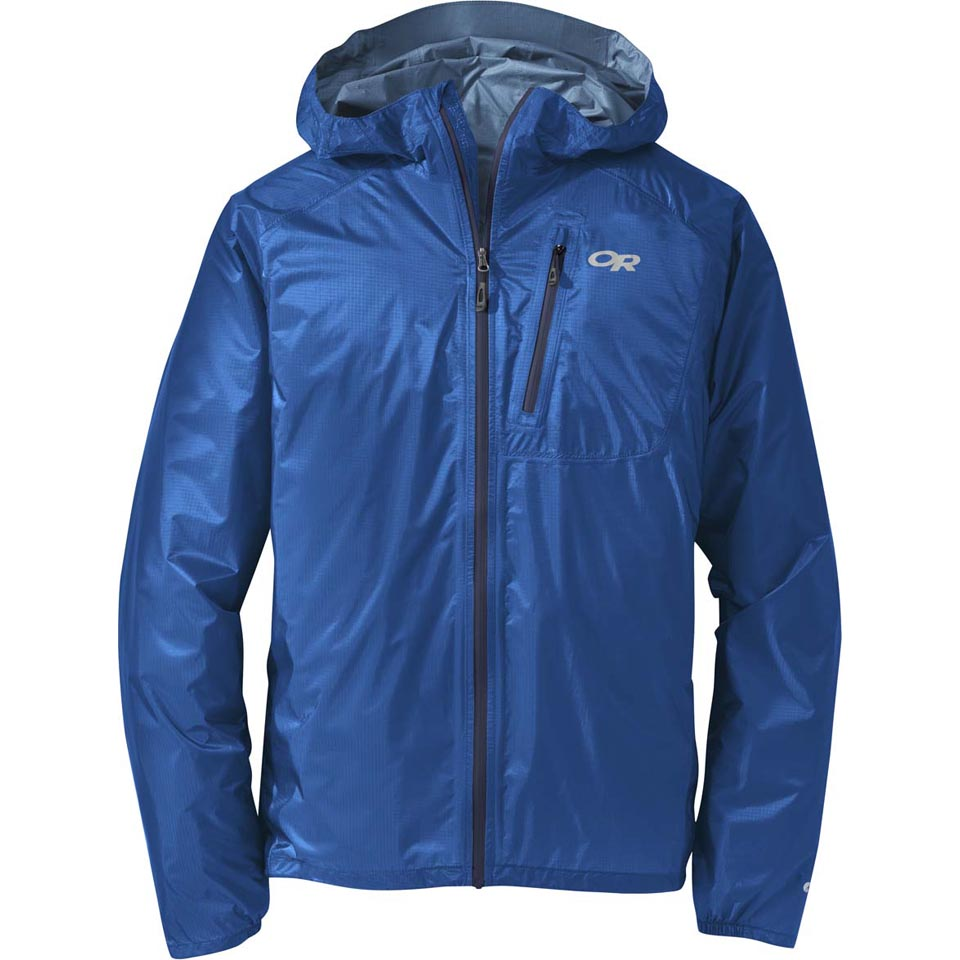 Pewter Outdoor Research Mens Helium II Jacket Large