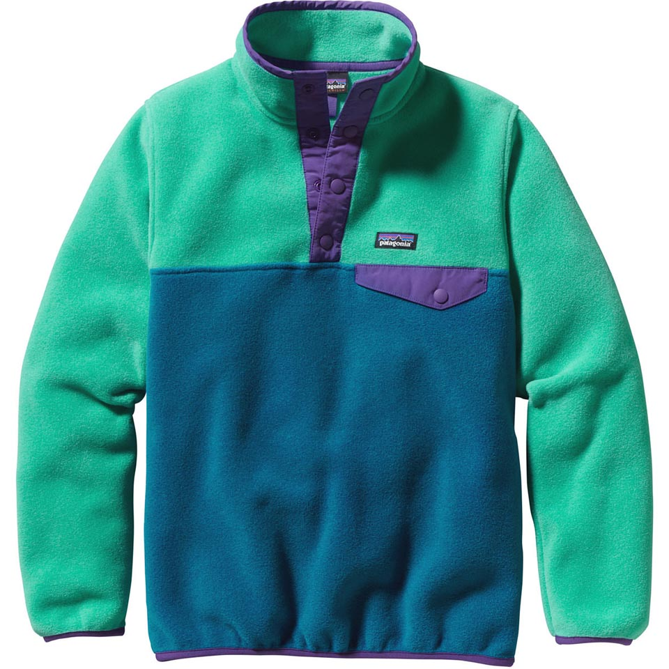 5c183f1e5 Patagonia Girls' Lightweight Synchilla Snap-T Pullover (Close-Out)