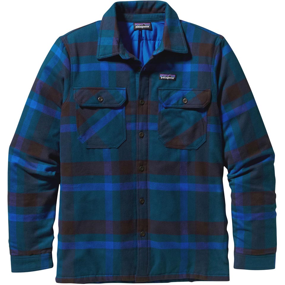 Patagonia Men S Insulated Fjord Flannel Jacket Close Out