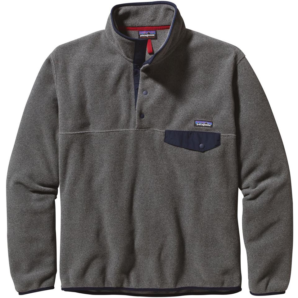 489959e11 Patagonia Men's Lightweight Synchilla Snap-T Pullover