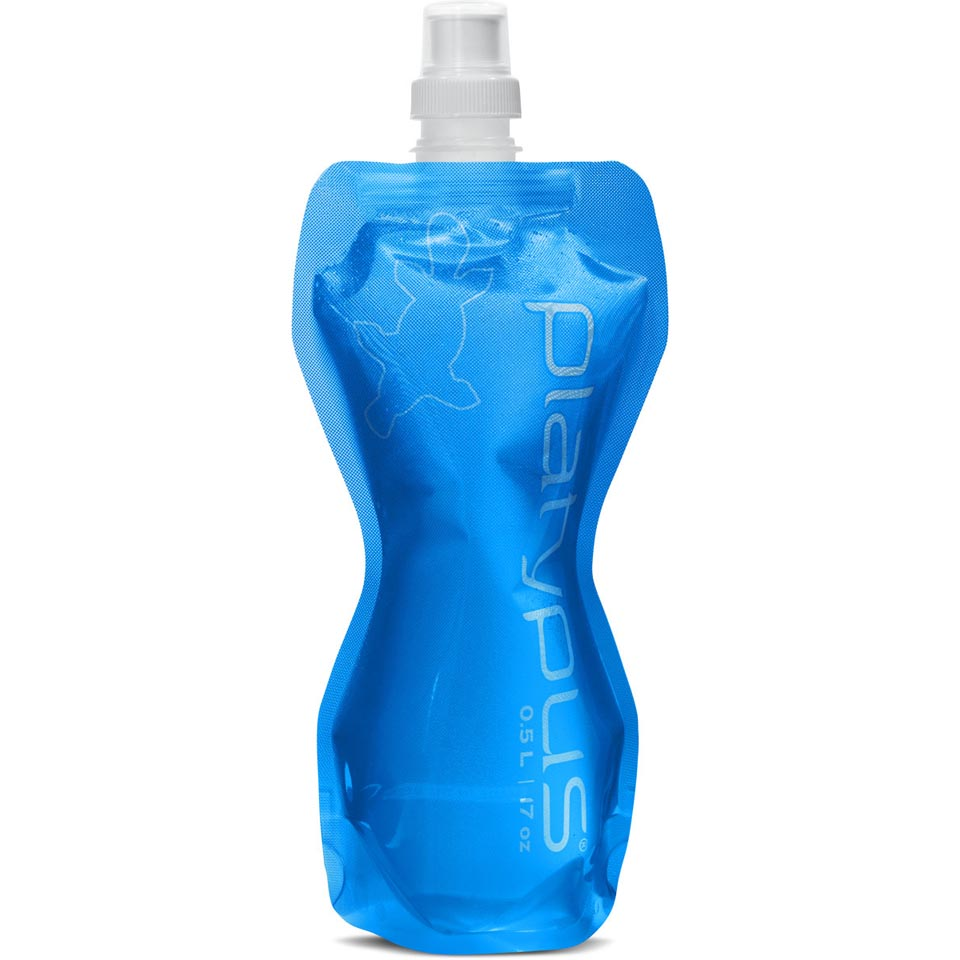 0.5L Blue Push-Pull Cap