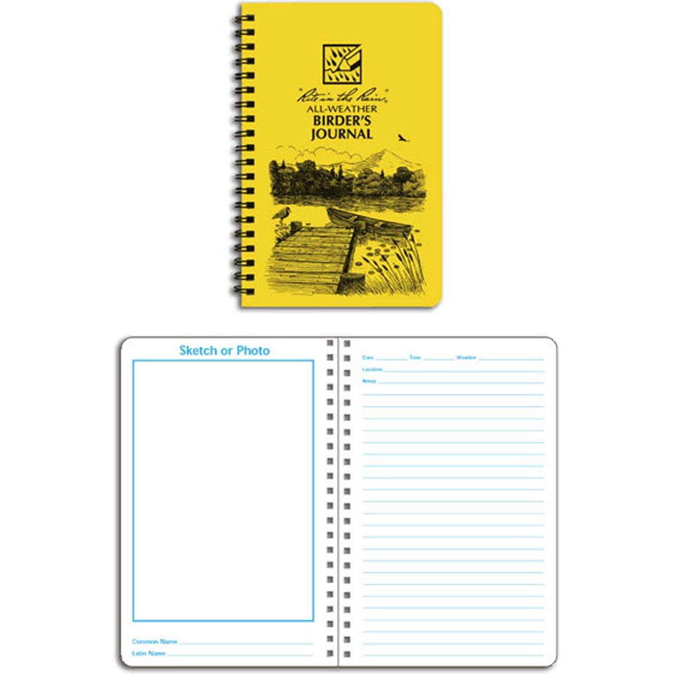 Birder's Field Notebook