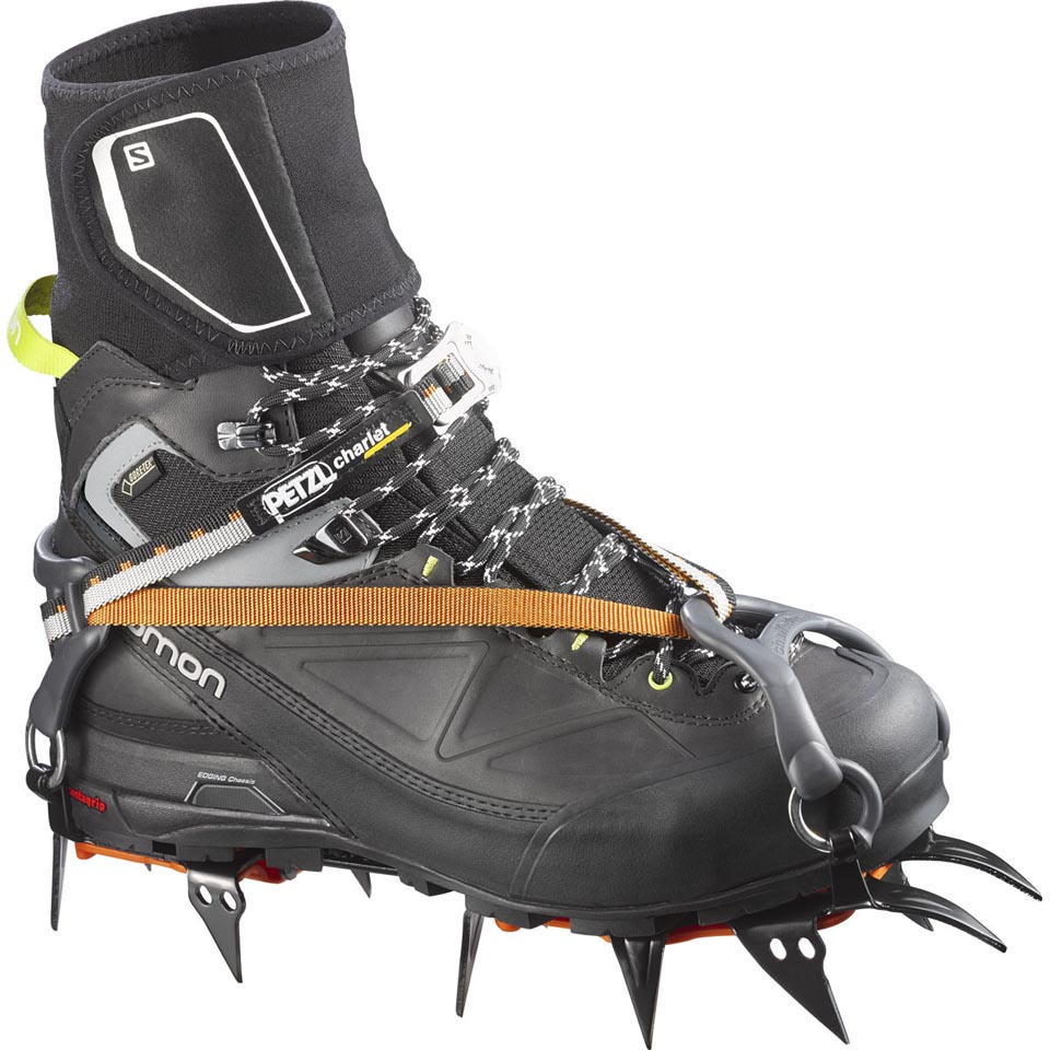 Crampons not included