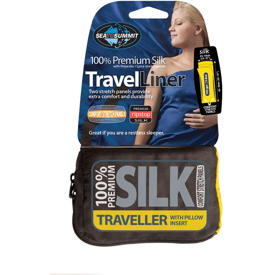 Premium Silk Travel Liner
