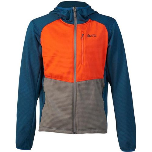 Sierra Designs Mens Cold Canyon Fleece Cold Weather Stretch Fleece Jacket