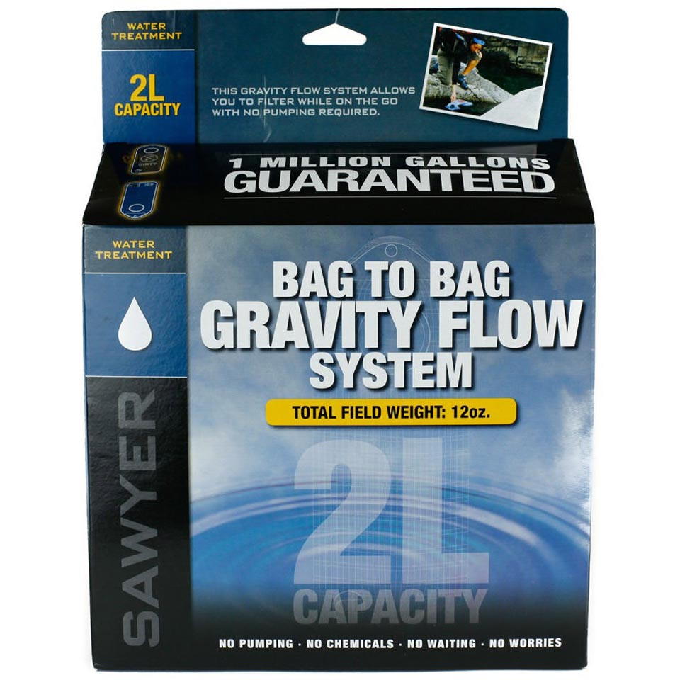 Complete 2 L Water Treatment Gravity System